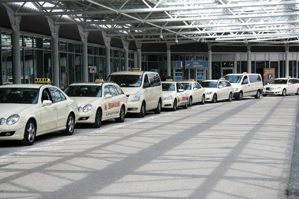 Taxis del aeropuerto