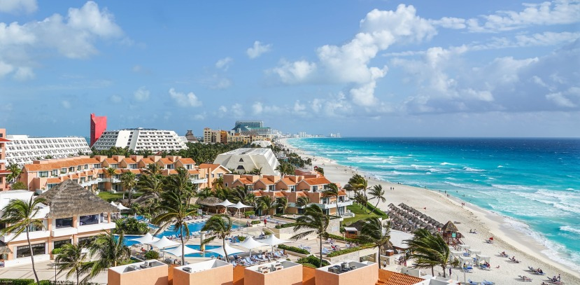 Turismo cancún zona hotelera